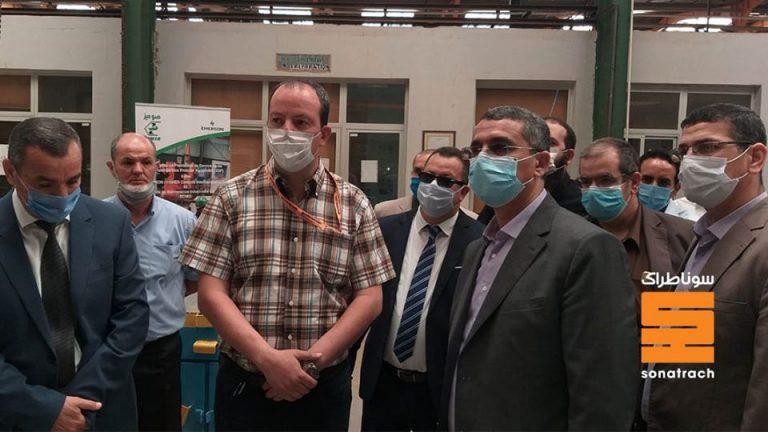 Toufik Hakkar rend hommage au corps médical du Groupe SONATRACH
