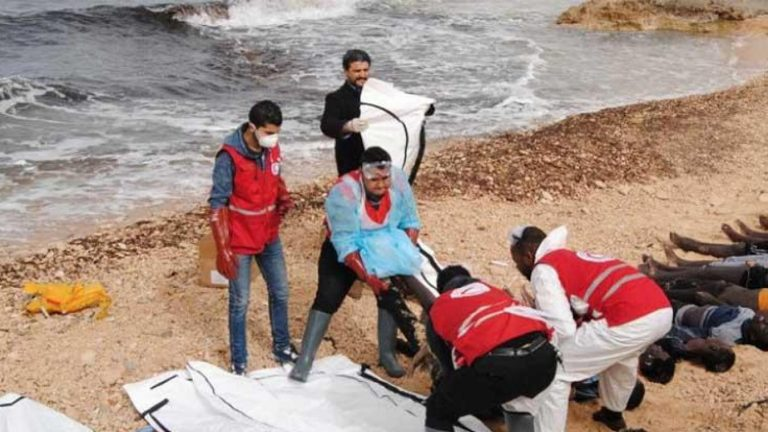 61 morts dans le naufrage d'une embarcation de migrants au large de Sfax (Tunisie)