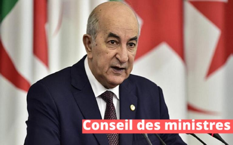 Texte intégral de la Réunion périodique du Conseil des ministres ( 26 juillet 2020)