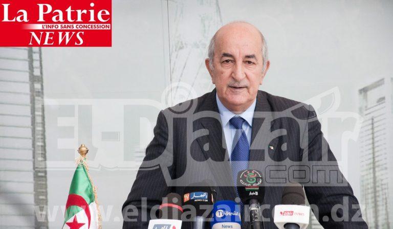 Conseil de la nation:  Tebboune nomme 14 sénateurs