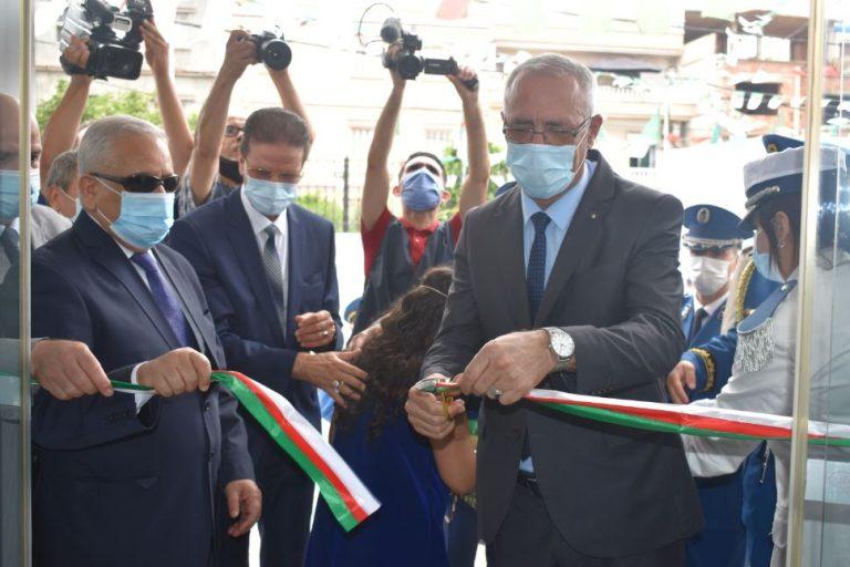 Khelifa Ounissi Inaugure une nouvelle structure de police à Mostaganem