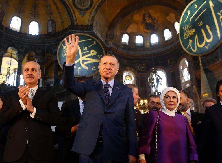 Istanbul: Première prière des musulmans à Sainte Sophie reconvertie en mosquée(vidéo)