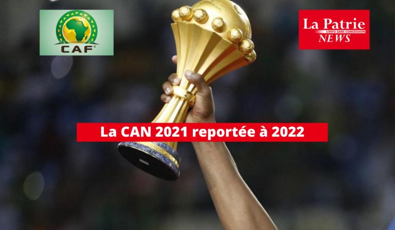 La CAN 2021 reportée à 2022