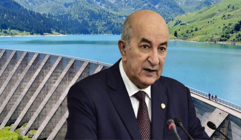 Coupures d'eau: le président Tebboune donne un délai