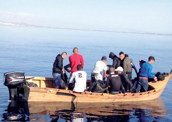 Mostaganem : Mise en échec d'une nouvelle tentative d'immigration clandestine