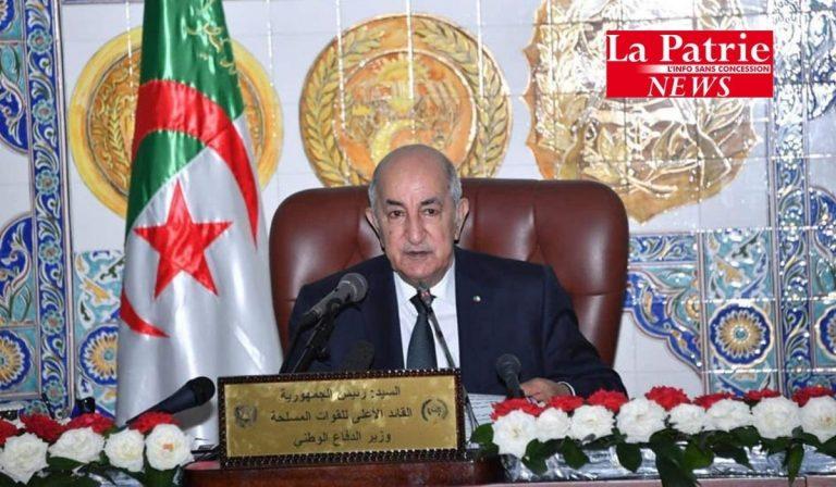 Tebboune, président de la République : L'ANP , garante de la démocratie et de la paix (vidéo)