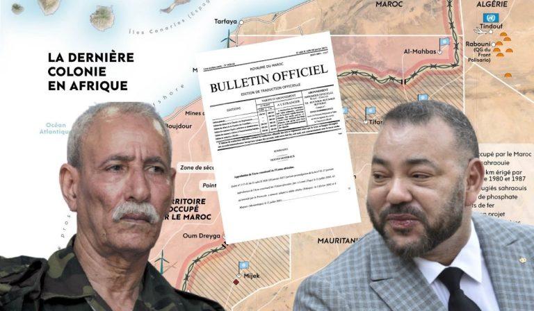 Le document l'attestant est signé de sa propre main: Mohamed VI reconnaît officiellement la RASD