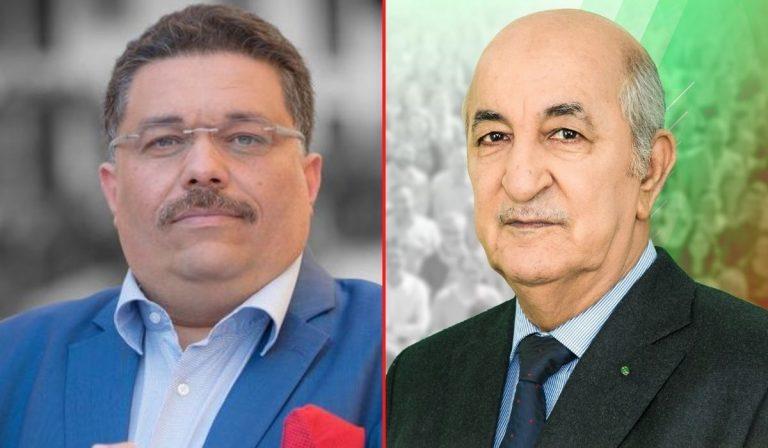Le président Tebboune reçoit Lamine Osmani président du partie Sawt chaâb