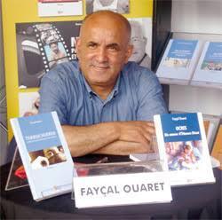 Fayçal Ouaret, membre Jury du Prix du 2ème roman 2022