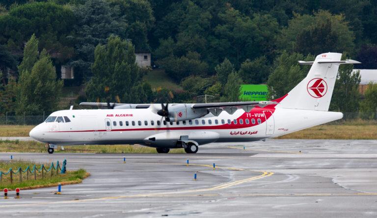 Aéroport d'Alger: un avion d'air Algérie fait une sortie de piste à l'atterrissage