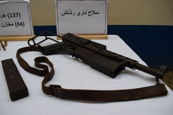 Alger: saisie d'un fusil-mitrailleur à Bab el Oued