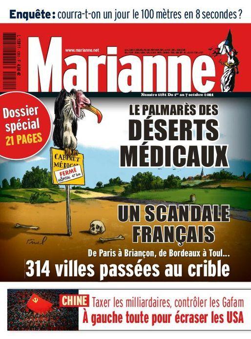 Dossier de Marianne sur les déserts médicaux : La France s'appuie sur des médecins retraités et étrangers, dont des algériens