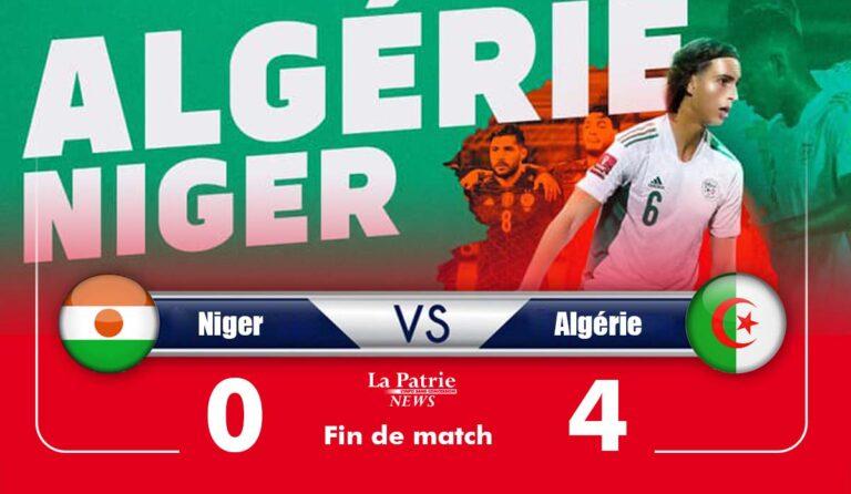 Niger 0 –Algérie 4 (Fin de match): Qui arrêtera les Verts?