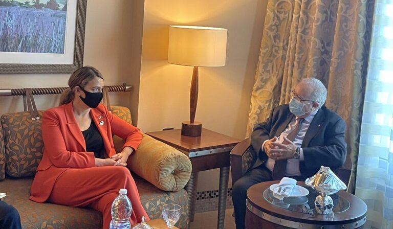 Le Sahara occidental au menu d'une rencontre entre Ramtane Lamamra et la sous-secrétaire d'État américaine